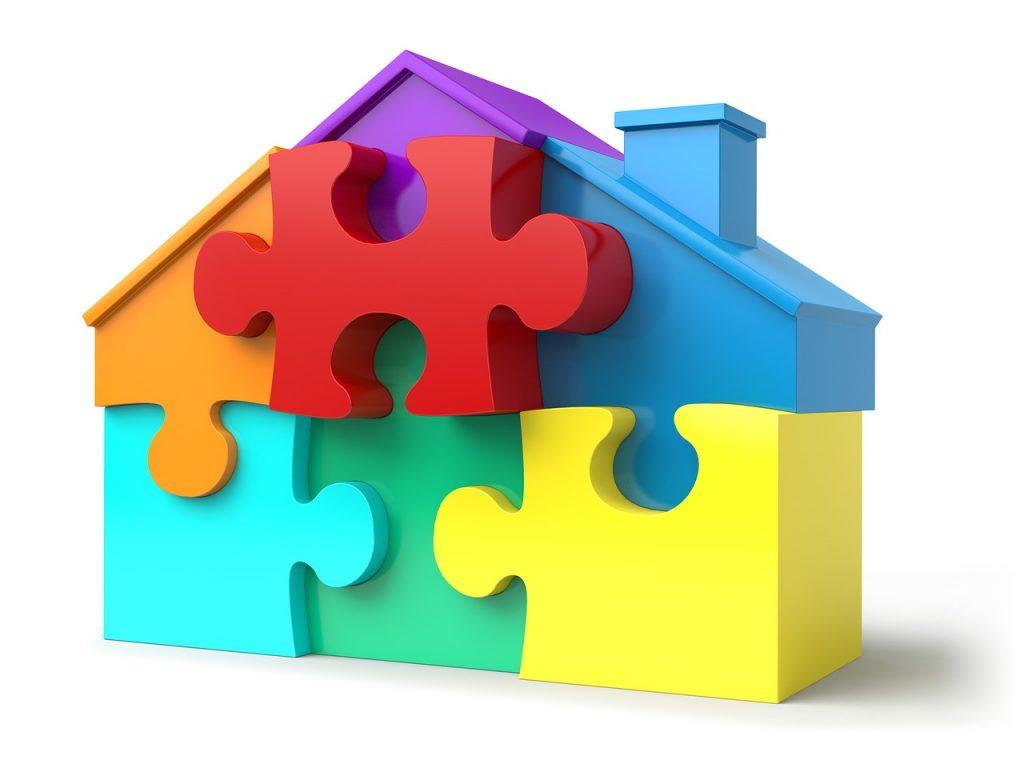 ביטוח משכנתא - בית בצבעים